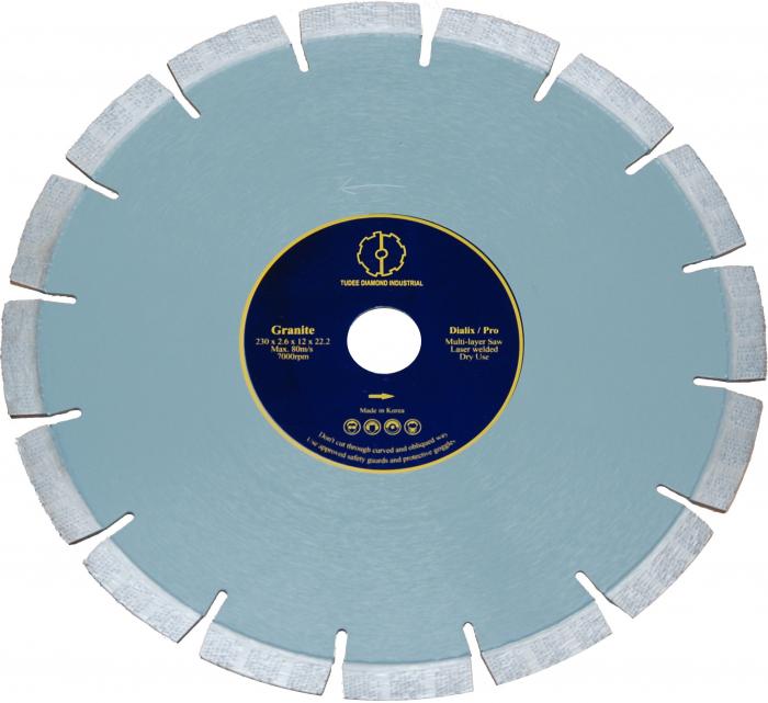 Tudee 115x22.2mm, Disc diamantat debitare granit [0]