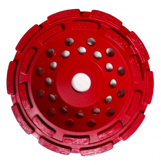 Tudee 125x22.2mm, Disc diamantat slefuire beton dur 1