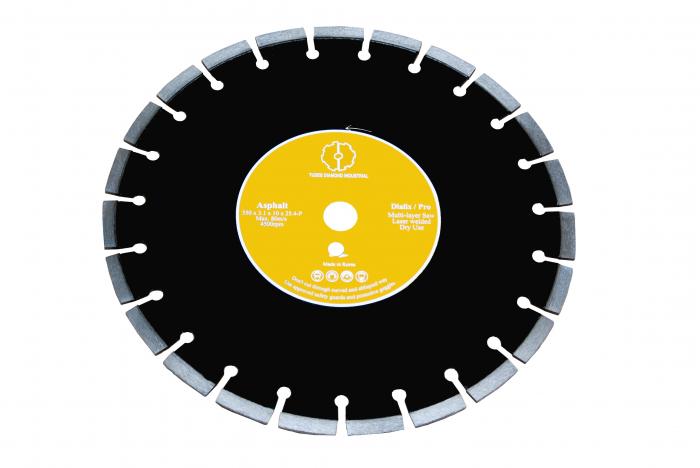 Tudee 400x25.4mm, Disc diamantat debitare asfalt 0
