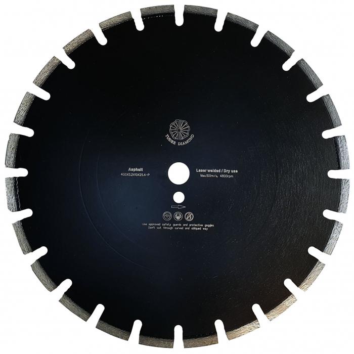 Tudee 400x3.2x10x25.4-P, Disc diamantat asfalt 0