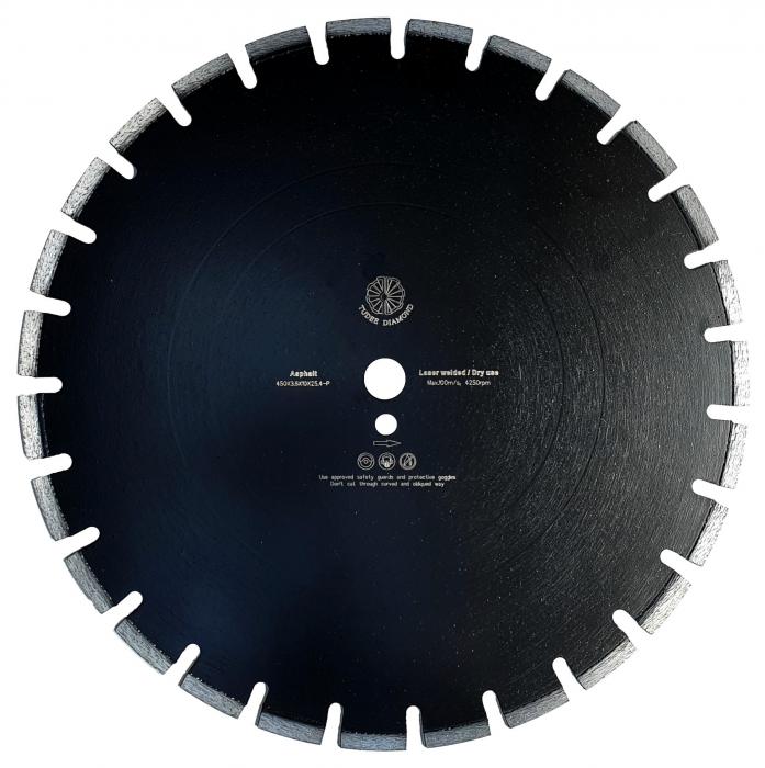 Tudee 450x3.6x10x25.4-P, Disc diamantat asfalt [0]