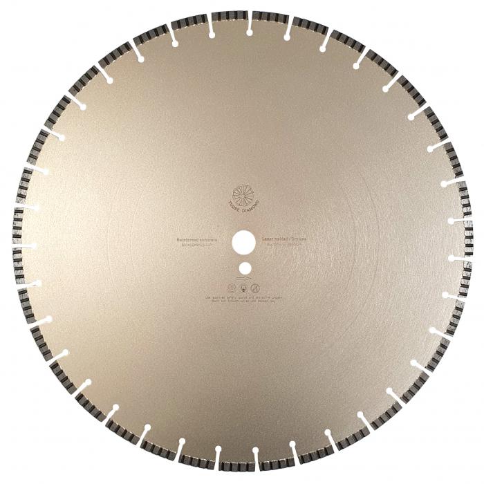 Tudee 500x3.6x10x25.4-P, Disc diamantat beton armat 0