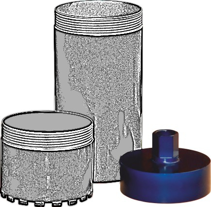 Tudee SCH252 cupla carota 252mm prindere 1-1/4UNC [0]