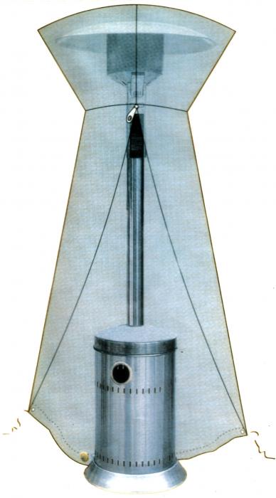 Zobo Husa protectie pentru incalzitor terasa H1107 [0]