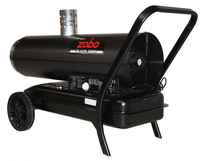 Zobo ZB-H170 Tun de aer cald, ardere indirecta, 50kW [0]