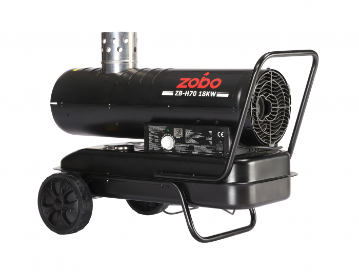 Zobo ZB-H70 Tun de aer cald, ardere indirecta, 18kW [0]