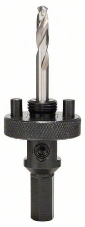 Adaptor carota HSS Bimetal, 32-210 mm, tija exagonala [1]