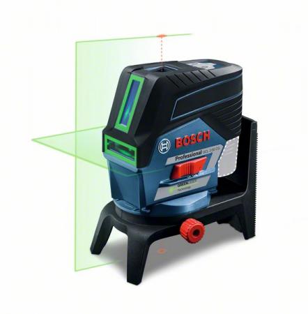 Bosch GCL 2-50 CG + RM 2 + BM 3 (solo) Nivela laser verde cu linii (20 m) cu Bluetooth + Suport professional + Clema pentru tavan + L-Boxx [0]