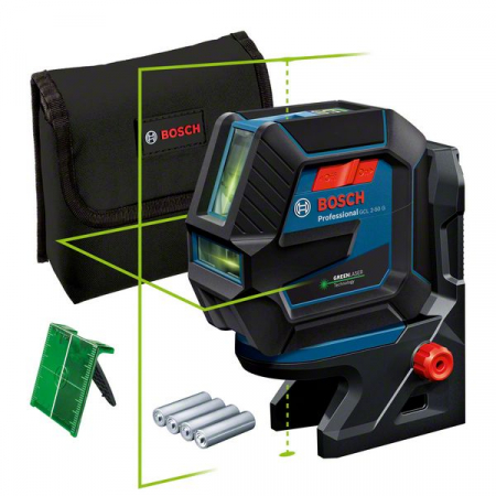 Bosch GCL 2-50 G + RM 10 Nivela laser verde cu linii (20 m) + Suport professional [1]