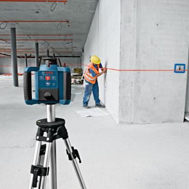 Bosch GRL 250 HV Nivela rotativa, receptor 125m, precizie 0.1 mm/m1