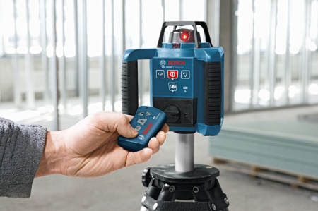 Bosch GRL 250 HV Nivela rotativa, receptor 125m, precizie 0.1 mm/m2
