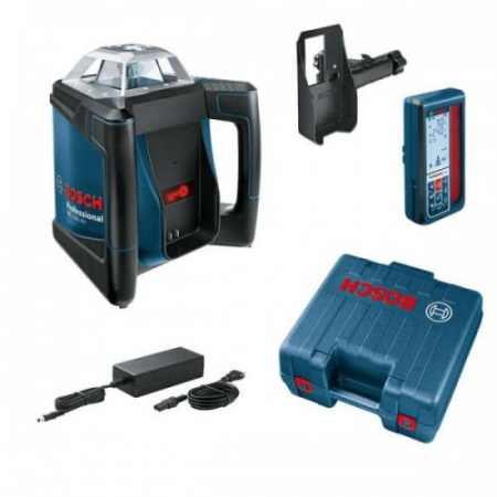 Bosch GRL 300 HVG Nivela laser rotativa + BT 300 Trepied + GR 240 Rigla1