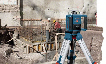Bosch GRL 400 H Set Nivela laser rotativa, 20m, receptor 400m, precizie 0.08mm/m1