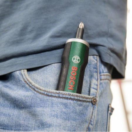 Bosch Surubelnita LiIon 3,6V PushDrive, 360rpm2