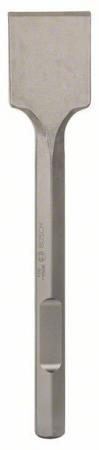 Dalta spatulata cu sistem de prindere hexagonal de 28mm 400x80mm0