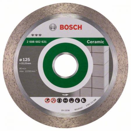 Disc diamantat Best for Ceramic 125x22,23x1,8x10mm1