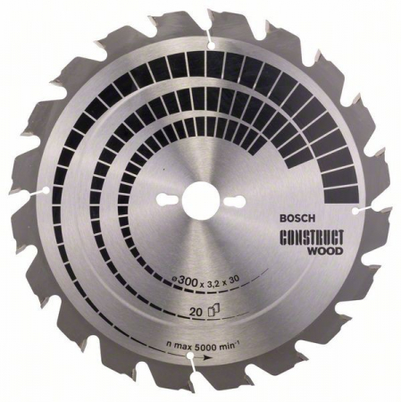 Disc pentru lemn Construct Wood 300x30 Z20 [0]