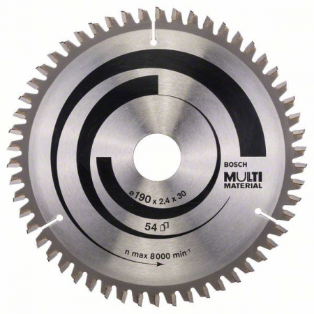 Disc pentru Multi Material 190x30 Z54 [0]