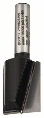 Freza dreapta, 8mm, D1 20mm, L 25mm, G 56mm 8mm, D1 20mm, L 25mm, G 56mm [0]