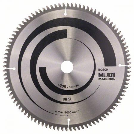 Panza de ferastrau circular Multi Material 305x30x3,2mm 96 [1]
