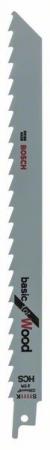 Panza de ferastrau sabie S 1111 K Basic for Wood set 2 buc. [1]