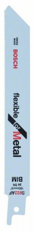 Panza de ferastrau sabie S 922 AF Flexible for Metal set 5 buc. [0]
