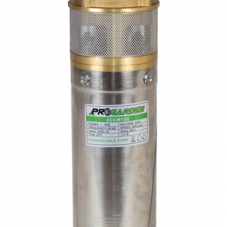 ProGARDEN 4SKM150 pompa submersibila apa curata, 1100W, 42L/min, flansa cupru [1]