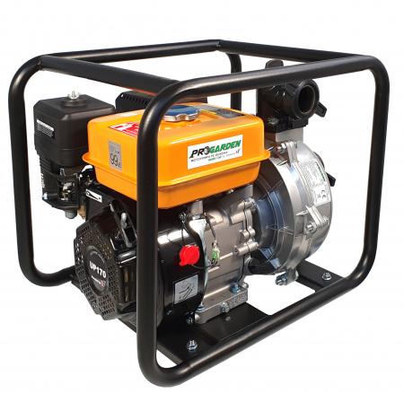 """ProGARDEN GHP50 motopompa 2""""/50mm, benzina, apa curata, inalta presiune, pornire la sfoara [0]"""