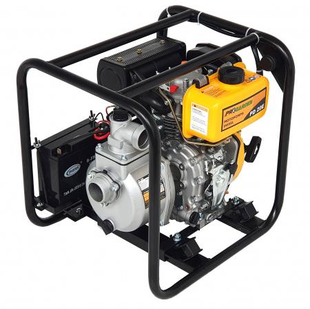 """ProGARDEN PD20E motopompa 2""""/50mm, diesel, apa curata, pornire electrica [2]"""
