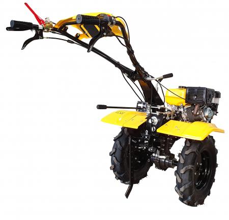 ProGARDEN PRO 15D motocultor 15CP, 3+1, diferential, roti 5.00-12, far, benzina [Campo 1554] [1]