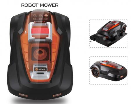 Redback RM24A(4Ah) Robot automat tuns gazon, 24V, 4AH, 240mm, 25-65mm [0]