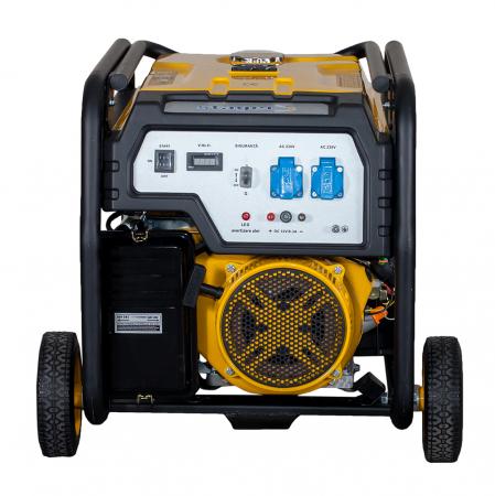 Stager FD 10000E generator open-frame 8kW, monofazat, benzina, pornire electrica [1]