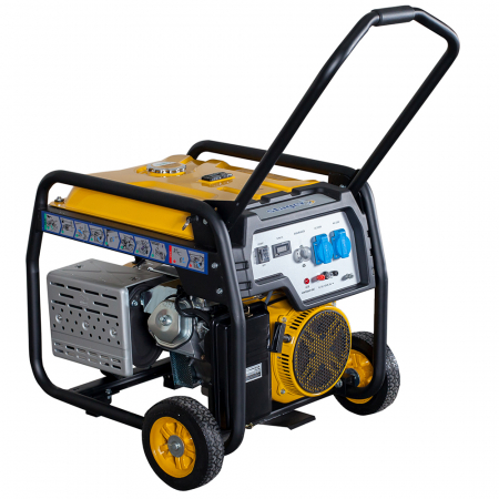 Stager FD 10000E generator open-frame 8kW, monofazat, benzina, pornire electrica [2]