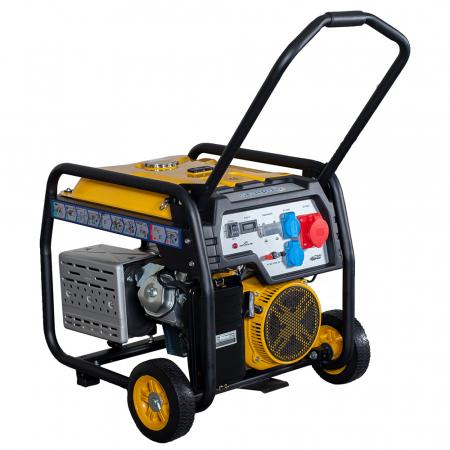 Stager FD 10000E3 generator open-frame 8kW, trifazat, benzina, pornire electrica [1]