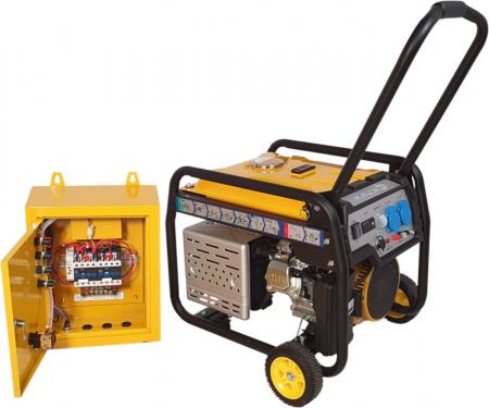 Stager FD 3000E+ATS generator open-frame 2.5kW, monofazat, benzina, automatizare [1]