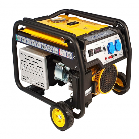 Stager FD 3000E generator open-frame 2.5kW, monofazat, benzina, pornire electrica [0]