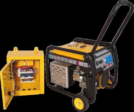Stager FD 3600E+ATS generator open-frame 2.8kW, monofazat, benzina, automatizare [0]