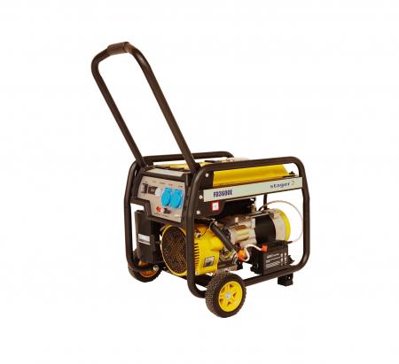 Stager FD 3600E generator open-frame 2.8kW, monofazat, benzina, pornire electrica [0]