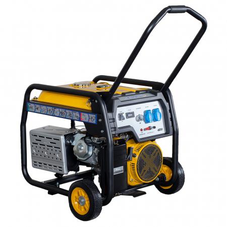 Stager FD 6500E generator open-frame 5kW, monofazat, benzina, pornire electrica [1]