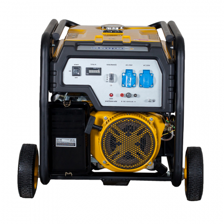 Stager FD 7500E generator open-frame 6kW, monofazat, benzina, pornire electrica [2]
