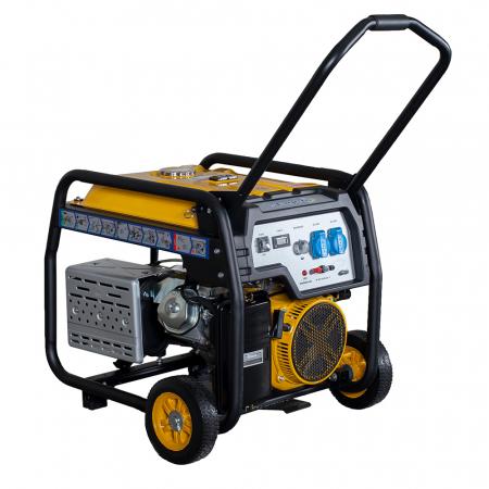 Stager FD 7500E generator open-frame 6kW, monofazat, benzina, pornire electrica [1]