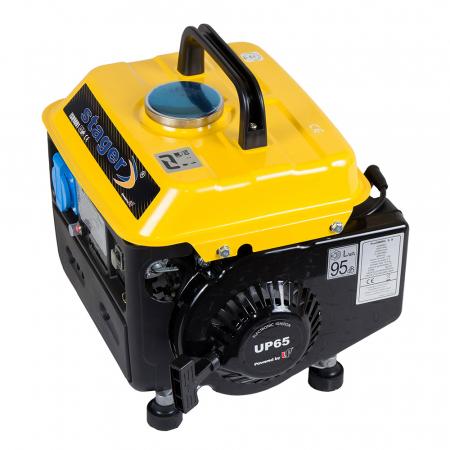 Stager GG 950DC generator open-frame 0.72kW, monofazat, amestec ulei/benzina, pornire la sfoara [2]