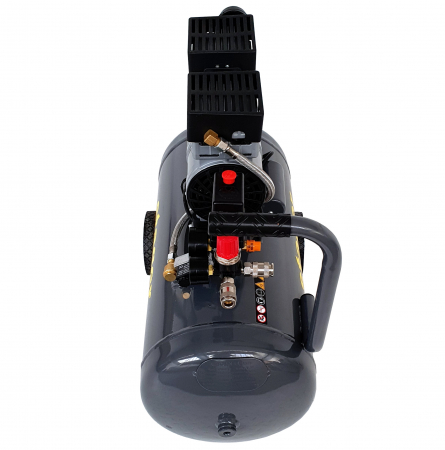 Stager HM0.75JW/50 compresor aer, 50L, 8bar, 165L/min, monofazat, angrenare directa, silentios [2]