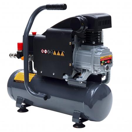 Stager HM1010K compresor aer, 6L, 8bar, 126L/min, monofazat, angrenare directa [1]