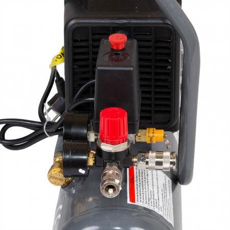 Stager HM1010K compresor aer, 6L, 8bar, 126L/min, monofazat, angrenare directa [0]