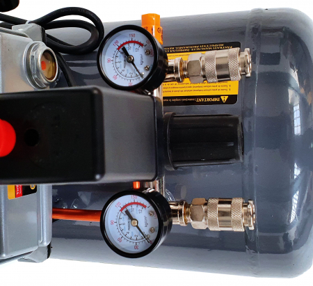 Stager HM2050B compresor aer, 50L, 8bar, 200L/min, monofazat, angrenare directa [2]