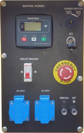 Stager YDE15000T Generator insonorizat diesel monofazat 11kVA, 48A, 3000rpm1