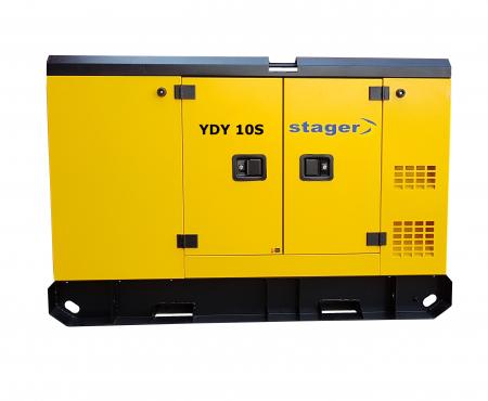 Stager YDY10S Generator insonorizat diesel monofazat 8.6kVA, 37A, 1500rpm2
