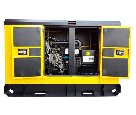 Stager YDY12S3 Generator insonorizat diesel trifazat 11kVA, 16A, 1500rpm1