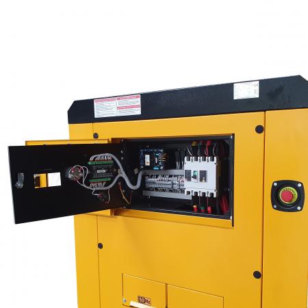 Stager YDY138S3 Generator insonorizat diesel trifazat 125kVA, 180A, 1500rpm [0]